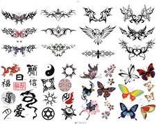Ideiglenes tetoválás matricák